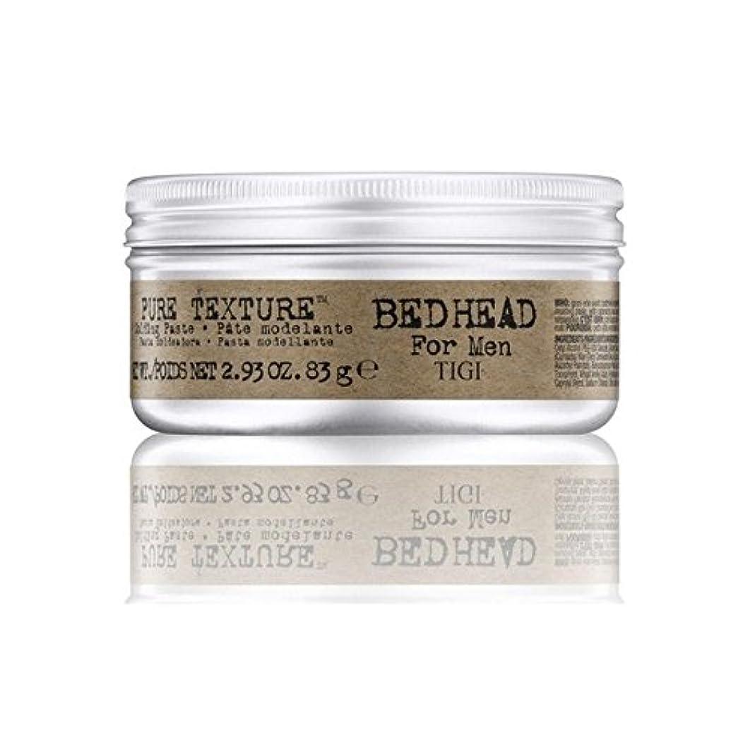 ペックジョブ幼児男性の純粋なテクスチャーモールディングペースト(83グラム)のためのティジーベッドヘッド x4 - Tigi Bed Head For Men Pure Texture Molding Paste (83G) (Pack...