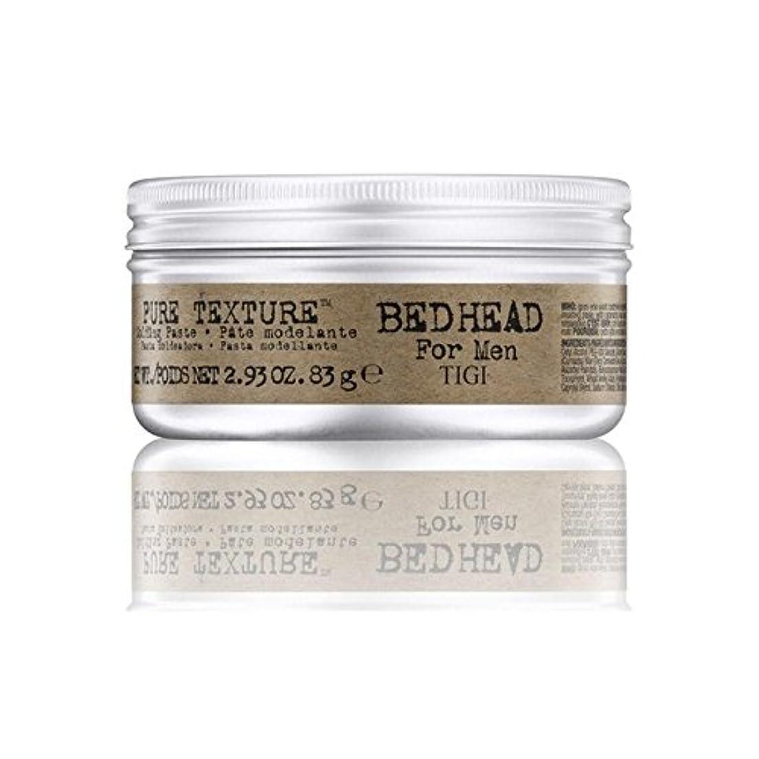 バランスオーロック少数Tigi Bed Head For Men Pure Texture Molding Paste (83G) - 男性の純粋なテクスチャーモールディングペースト(83グラム)のためのティジーベッドヘッド [並行輸入品]