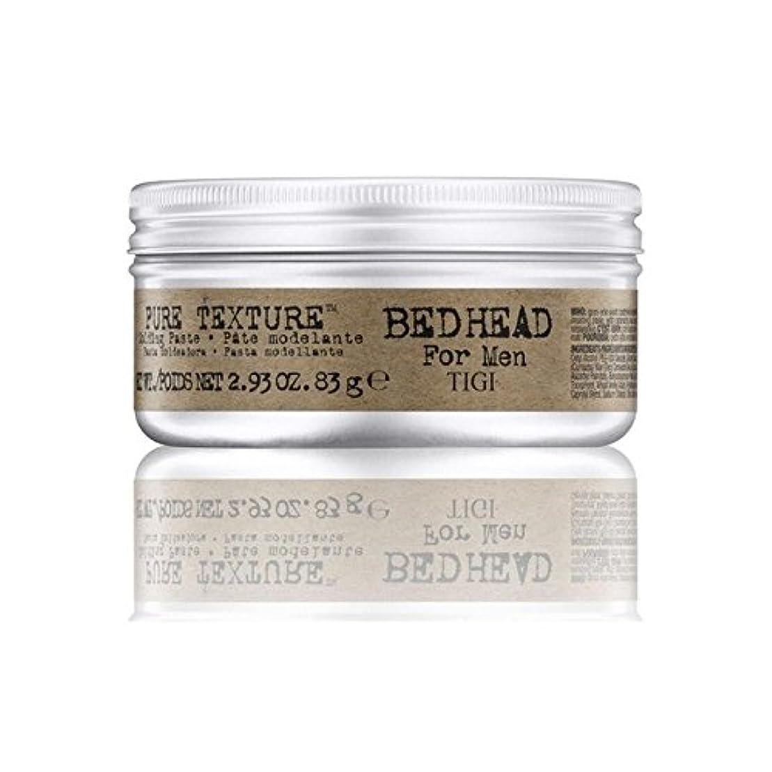 ファームモニター柔らかさ男性の純粋なテクスチャーモールディングペースト(83グラム)のためのティジーベッドヘッド x2 - Tigi Bed Head For Men Pure Texture Molding Paste (83G) (Pack...