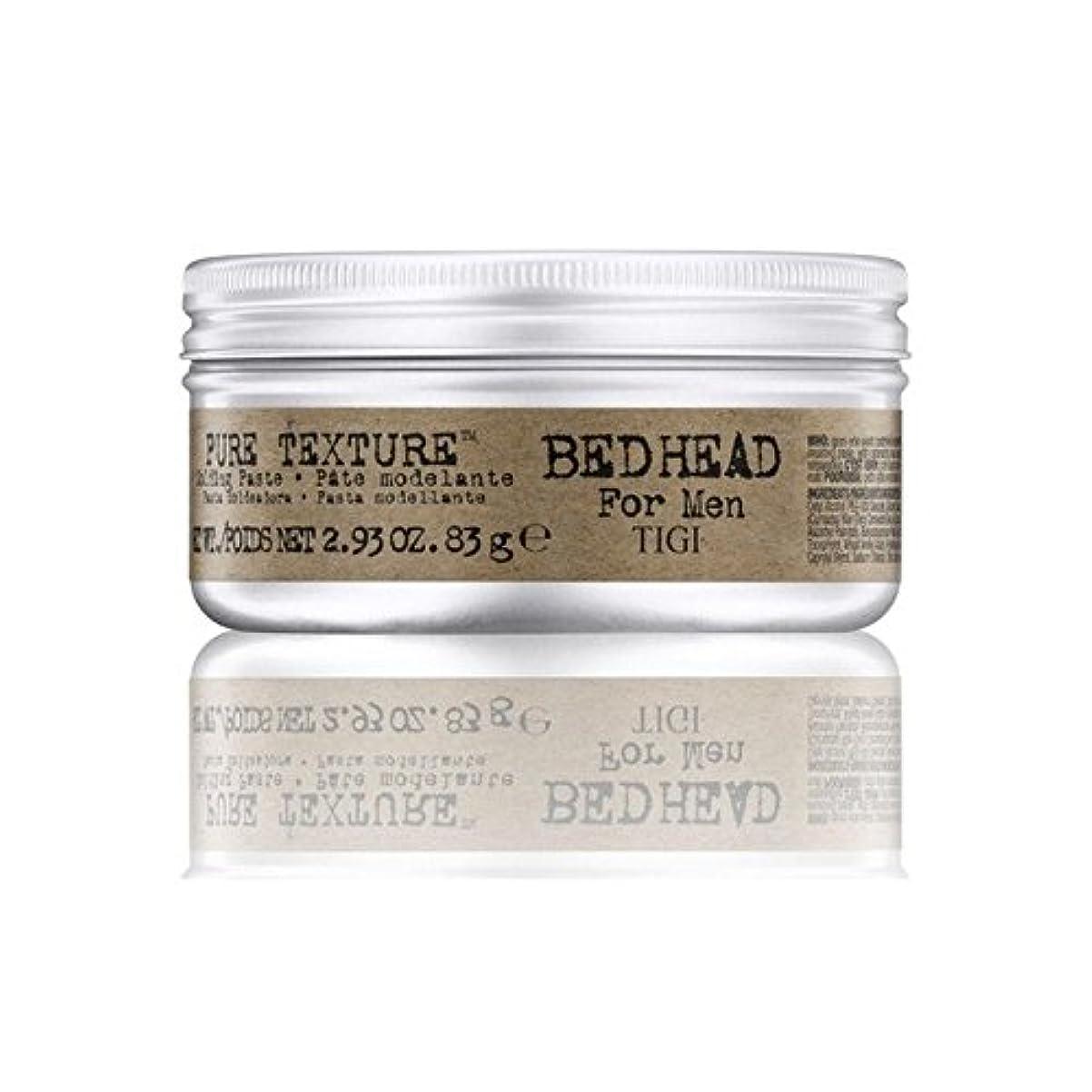 療法ウイルスばか男性の純粋なテクスチャーモールディングペースト(83グラム)のためのティジーベッドヘッド x2 - Tigi Bed Head For Men Pure Texture Molding Paste (83G) (Pack...