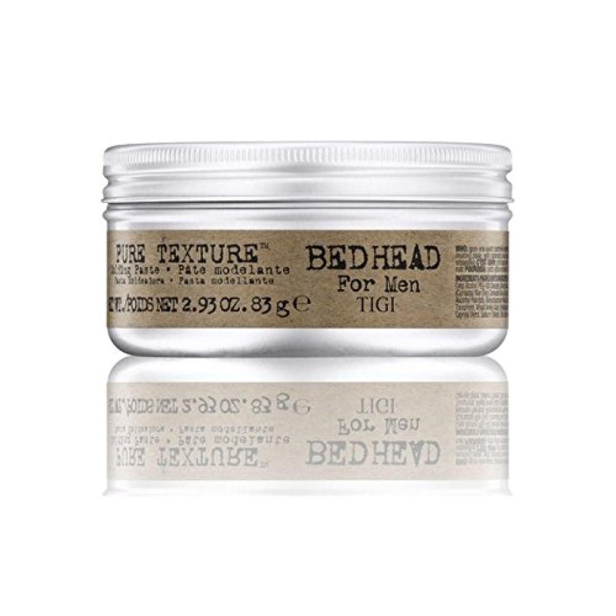 オークランド受け入れ文庫本Tigi Bed Head For Men Pure Texture Molding Paste (83G) (Pack of 6) - 男性の純粋なテクスチャーモールディングペースト(83グラム)のためのティジーベッドヘッド...