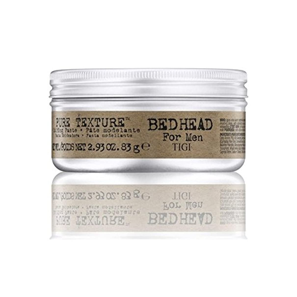 歯科医湾アクセシブル男性の純粋なテクスチャーモールディングペースト(83グラム)のためのティジーベッドヘッド x4 - Tigi Bed Head For Men Pure Texture Molding Paste (83G) (Pack...