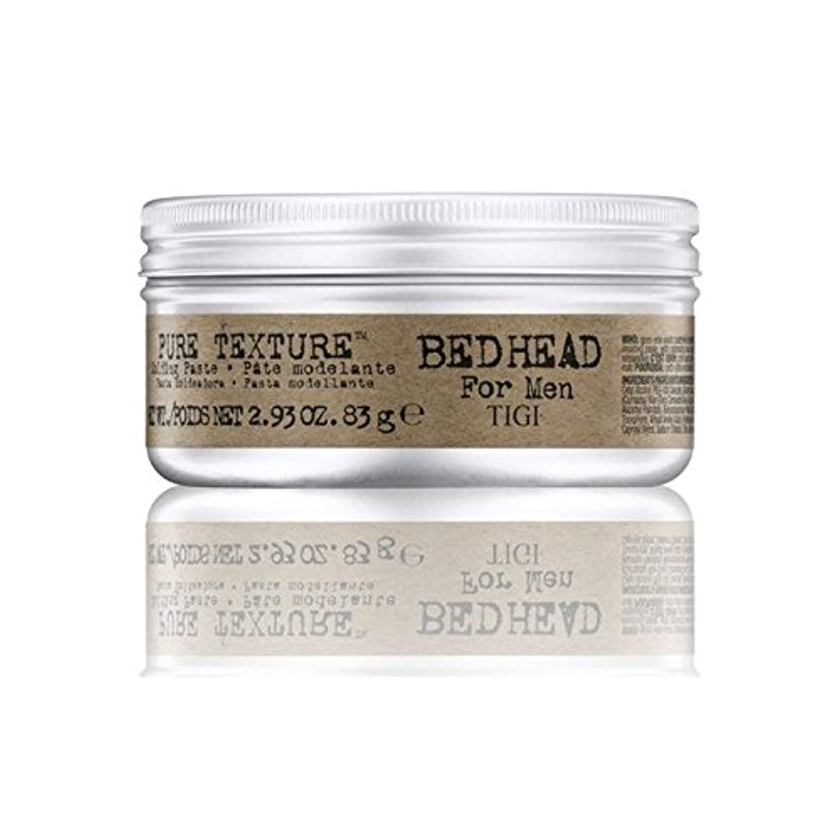 創傷感謝祭豊かなTigi Bed Head For Men Pure Texture Molding Paste (83G) - 男性の純粋なテクスチャーモールディングペースト(83グラム)のためのティジーベッドヘッド [並行輸入品]