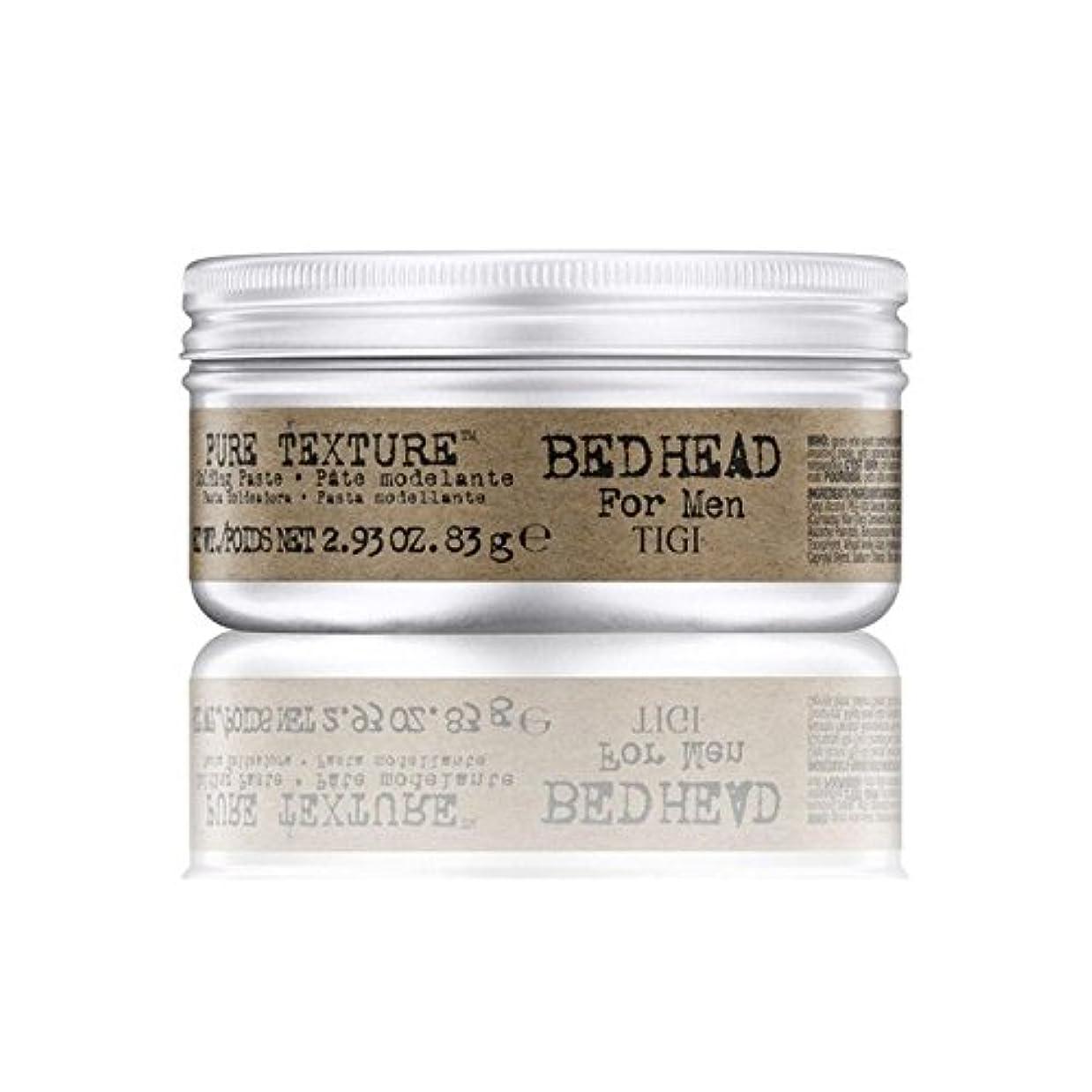 販売員短くする悪魔Tigi Bed Head For Men Pure Texture Molding Paste (83G) - 男性の純粋なテクスチャーモールディングペースト(83グラム)のためのティジーベッドヘッド [並行輸入品]