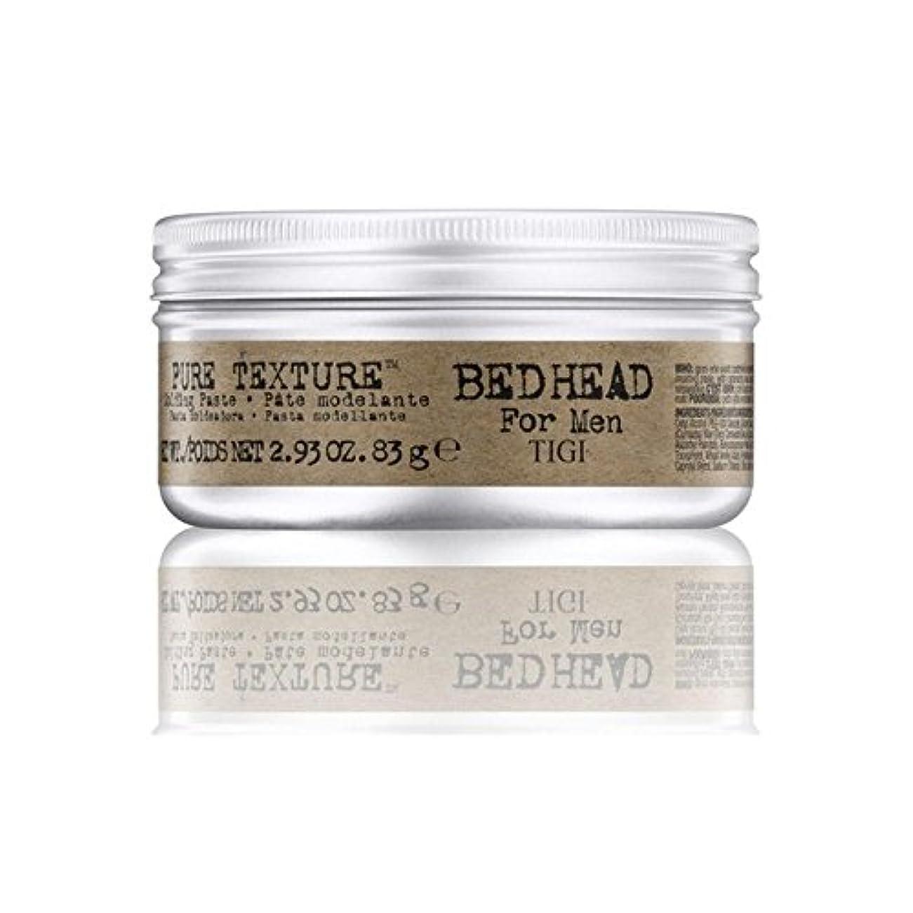受け取る熱狂的なドナウ川男性の純粋なテクスチャーモールディングペースト(83グラム)のためのティジーベッドヘッド x4 - Tigi Bed Head For Men Pure Texture Molding Paste (83G) (Pack...
