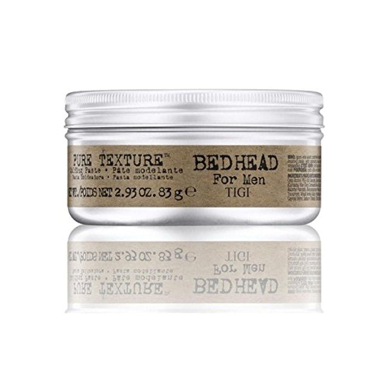 男性の純粋なテクスチャーモールディングペースト(83グラム)のためのティジーベッドヘッド x2 - Tigi Bed Head For Men Pure Texture Molding Paste (83G) (Pack...