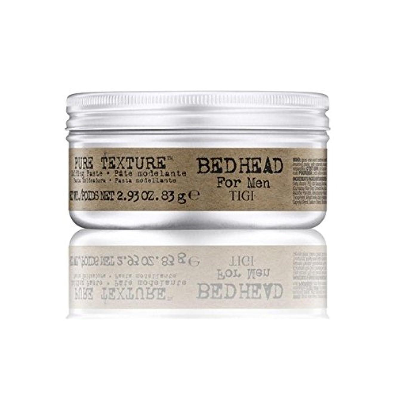 仲間持っている感覚男性の純粋なテクスチャーモールディングペースト(83グラム)のためのティジーベッドヘッド x2 - Tigi Bed Head For Men Pure Texture Molding Paste (83G) (Pack...