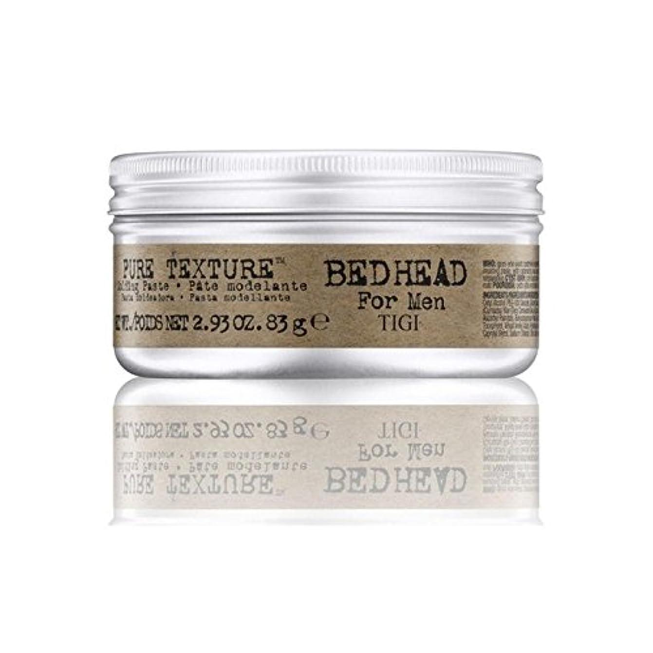 重量サスティーンおばさん男性の純粋なテクスチャーモールディングペースト(83グラム)のためのティジーベッドヘッド x2 - Tigi Bed Head For Men Pure Texture Molding Paste (83G) (Pack...