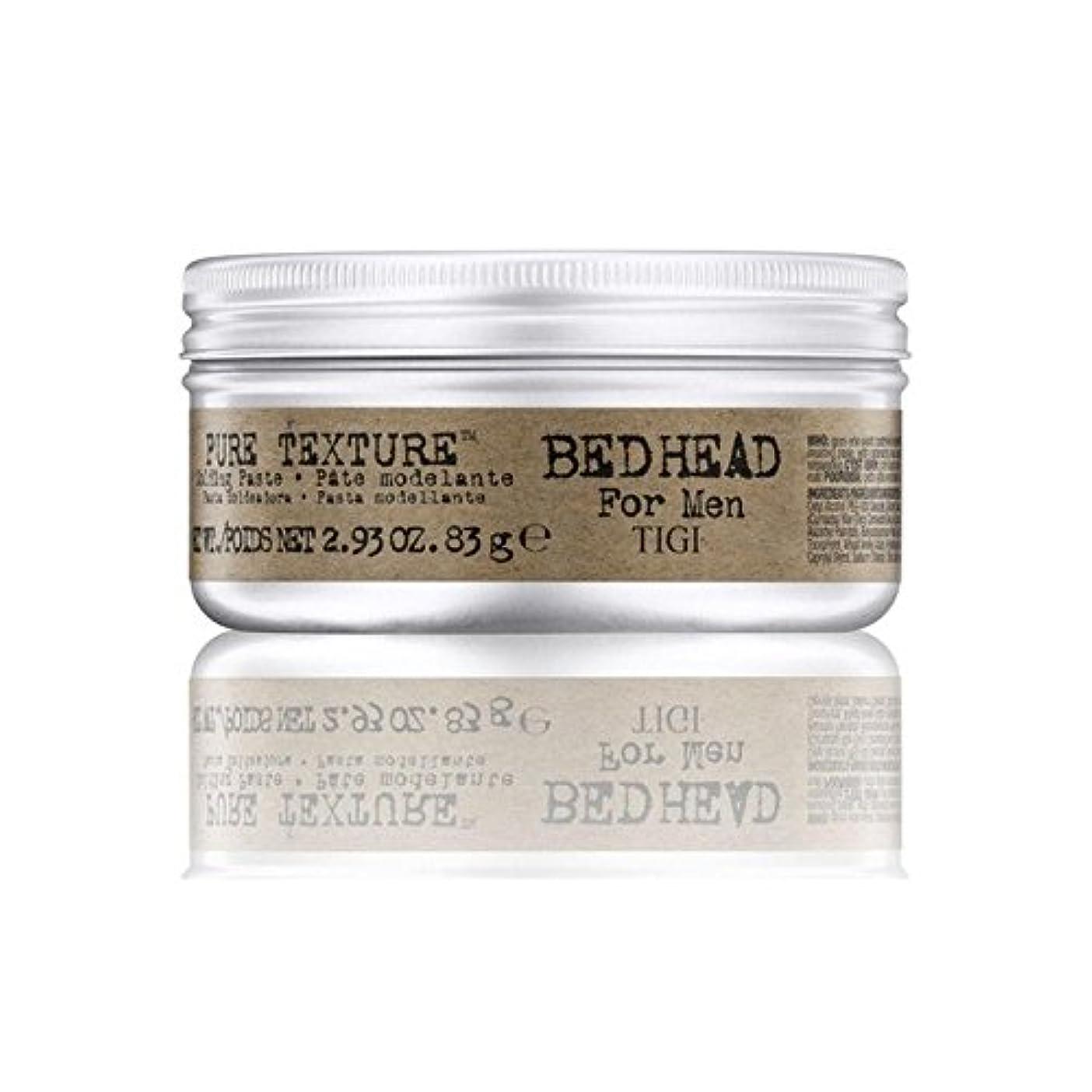 輸血真っ逆さま口ひげTigi Bed Head For Men Pure Texture Molding Paste (83G) - 男性の純粋なテクスチャーモールディングペースト(83グラム)のためのティジーベッドヘッド [並行輸入品]