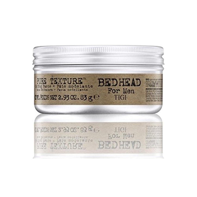 フットボールハッチ髄男性の純粋なテクスチャーモールディングペースト(83グラム)のためのティジーベッドヘッド x2 - Tigi Bed Head For Men Pure Texture Molding Paste (83G) (Pack...