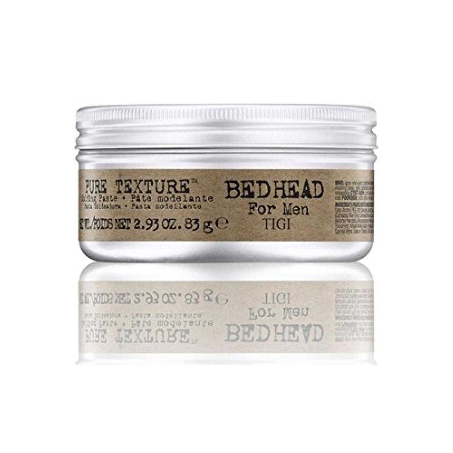 心理学早熟ブランド名男性の純粋なテクスチャーモールディングペースト(83グラム)のためのティジーベッドヘッド x4 - Tigi Bed Head For Men Pure Texture Molding Paste (83G) (Pack...