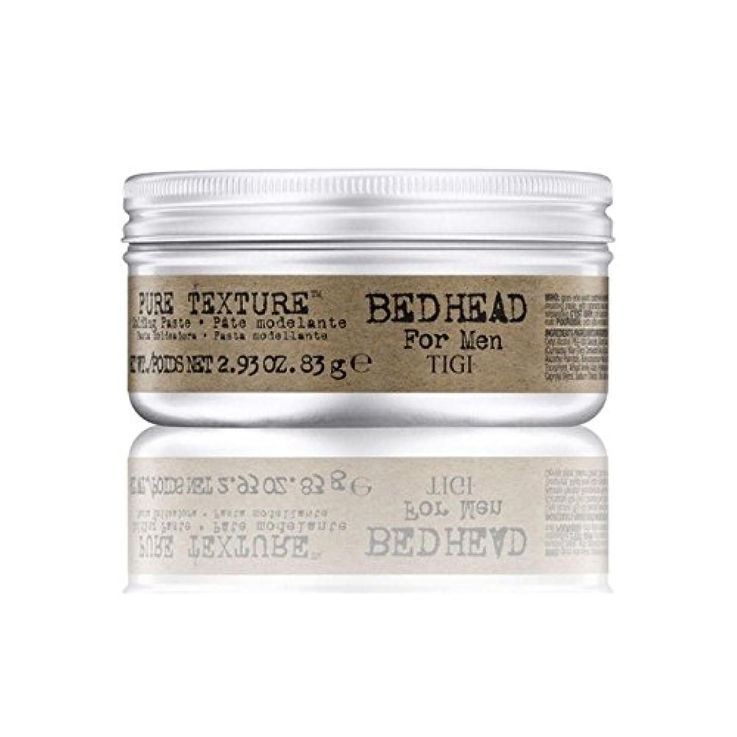 表示バンジージャンプ若者Tigi Bed Head For Men Pure Texture Molding Paste (83G) (Pack of 6) - 男性の純粋なテクスチャーモールディングペースト(83グラム)のためのティジーベッドヘッド...