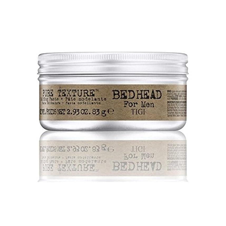 乏しい抵抗生き物Tigi Bed Head For Men Pure Texture Molding Paste (83G) (Pack of 6) - 男性の純粋なテクスチャーモールディングペースト(83グラム)のためのティジーベッドヘッド...