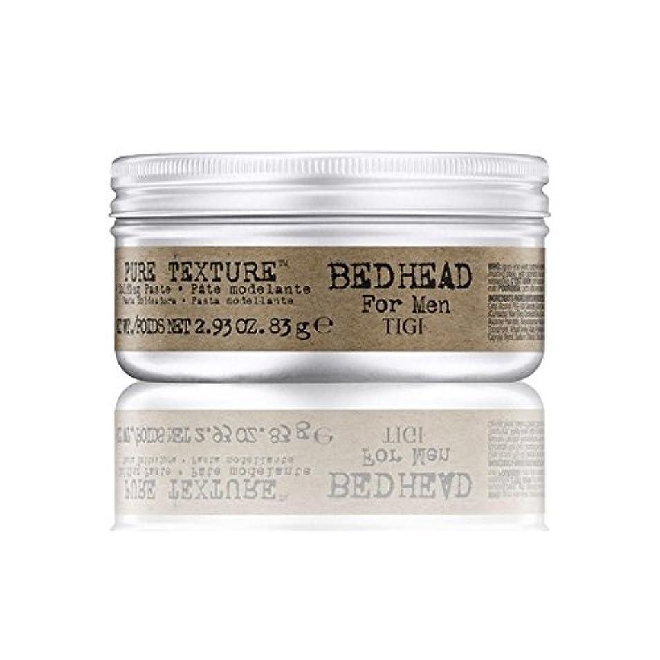 フラップオークランド立ち向かう男性の純粋なテクスチャーモールディングペースト(83グラム)のためのティジーベッドヘッド x2 - Tigi Bed Head For Men Pure Texture Molding Paste (83G) (Pack...