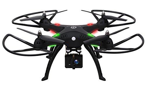 Holy Stone ドローン 1080P広角カメラ付き 空撮 クアッドコプター 高度維持機能 2.4GHz マルチコプター 高画質 4CH 6軸ジャイロ 予備バッテリー付き 国内認証済み HS300