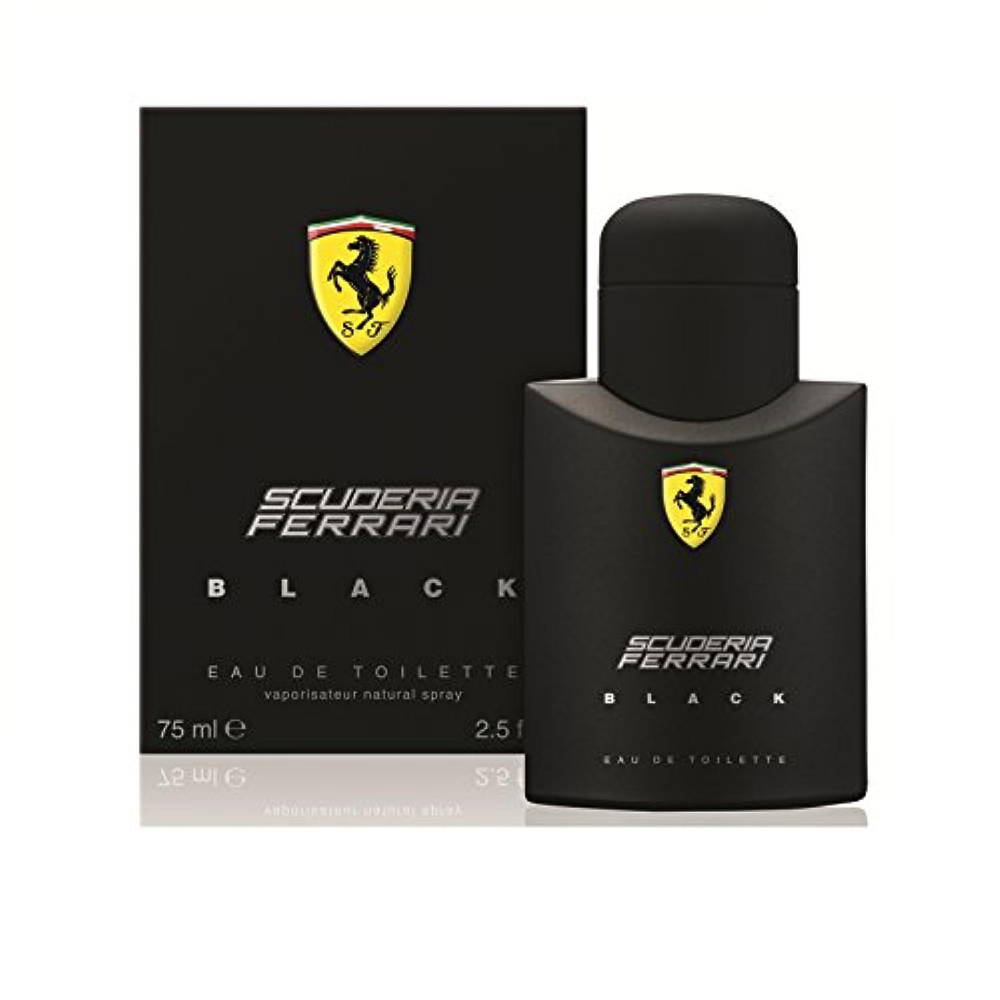 スポンサー熱狂的な走るフェラーリ フェラーリブラックEDT 75ml [並行輸入品]