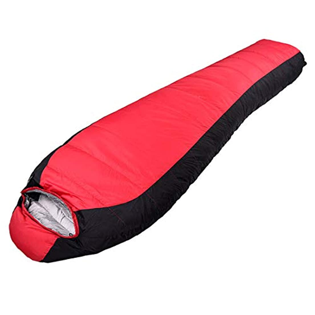 攻撃キリンすぐにNunulu キャンプミイラの寝袋軽量ポータブル防水快適なコンプレッションサック - グレート (色 : レッド)