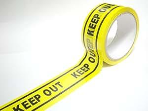 KEEP OUT バリケード テープ コスプレ 工事現場 場所取り 50m