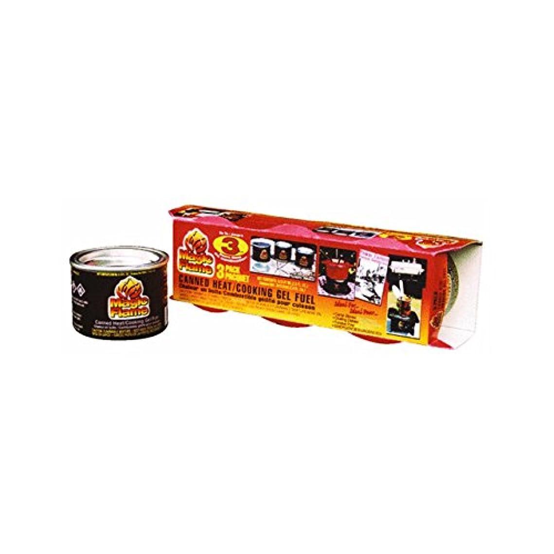 とげのあるスポーツの試合を担当している人定常Magic Flame Canned Cooking Fuel by Scientific Utility Brands