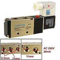 AC 220V 29ミリアンペア5ポート空気圧電磁弁