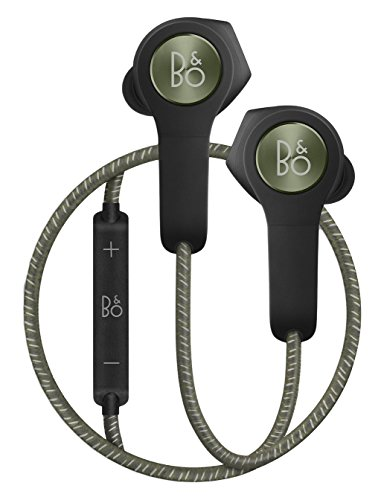 B&O Play BeoPlay H5 ワイヤレス Bluetooth イヤホン/リモコン・マイク付き/通話可能 モスグリーン【国内正規品】