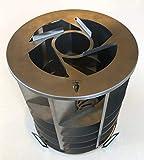チタン製グリル直径18㎝ 収納袋つき (20, 20)