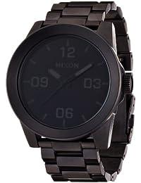 [ニクソン]NIXON CORPORAL SS: ALL BLACK NA346001-00 メンズ 【正規輸入品】