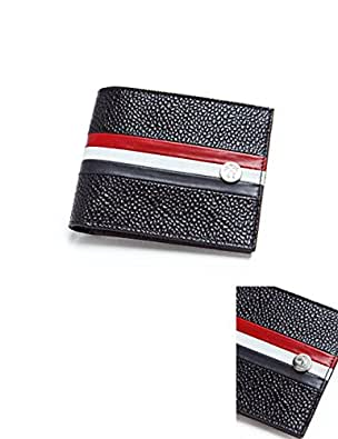 BLACK FLEECE メンズ 財布 二つ折り (68948)【★-ブラック】 並行輸入品