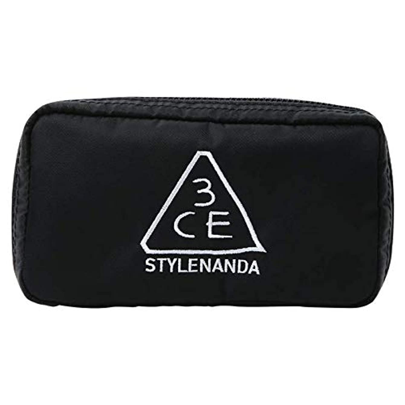 3CE コンパクトポーチ/ 3CE COMPACT POUCH #BLACK [並行輸入品]