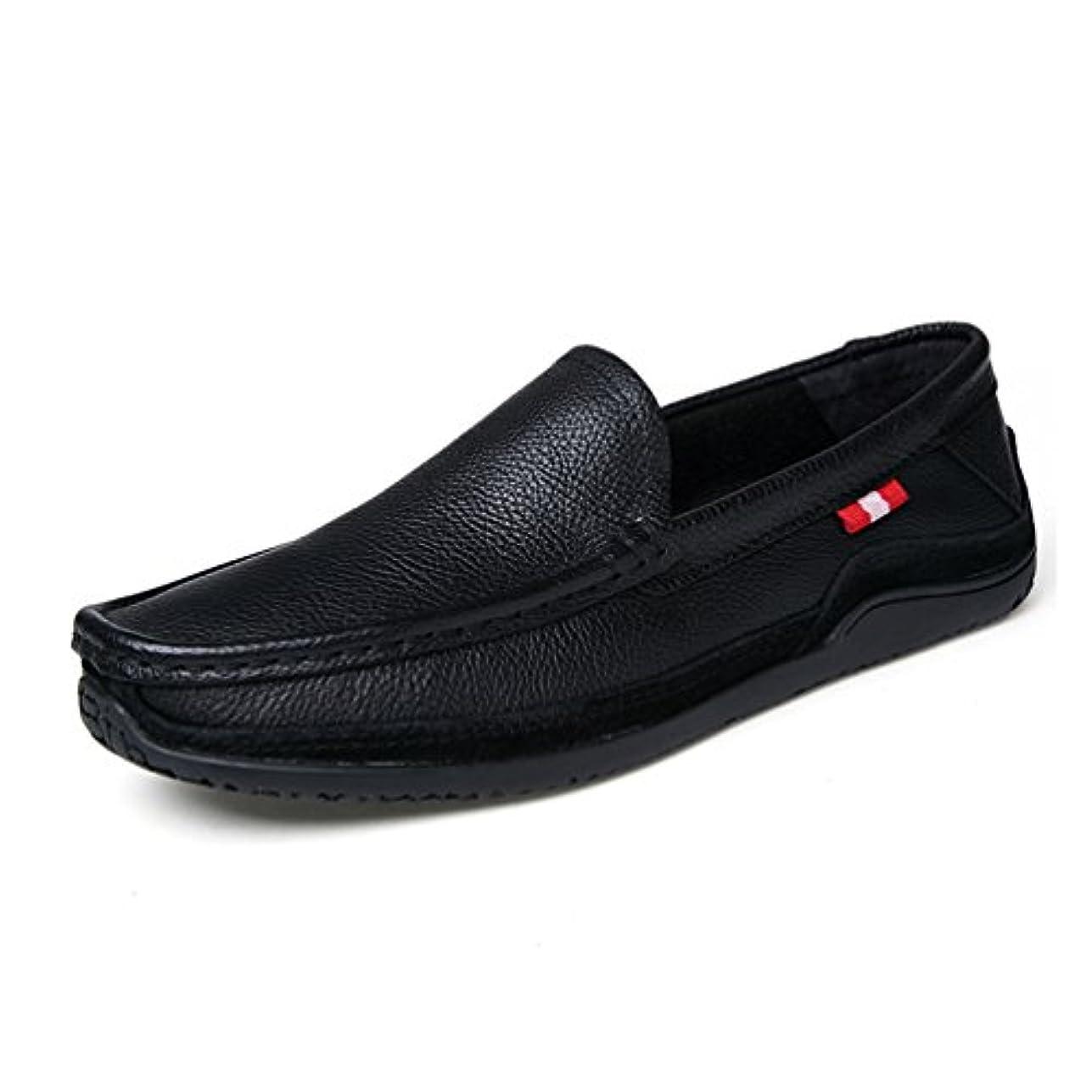 シャットマッサージ暴露するドライビングシューズ メンズ スリッポン ローファー 革靴 モカシン フォーマル大人 ローカット カジュアル 通気性 夏 男の子 滑べ止め 男性 黒 ブラウン レッド 通勤 職場 屈曲性 軽量 歩きやすい