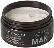 VITAMAN Styling Hair Creme for Men, 100 g