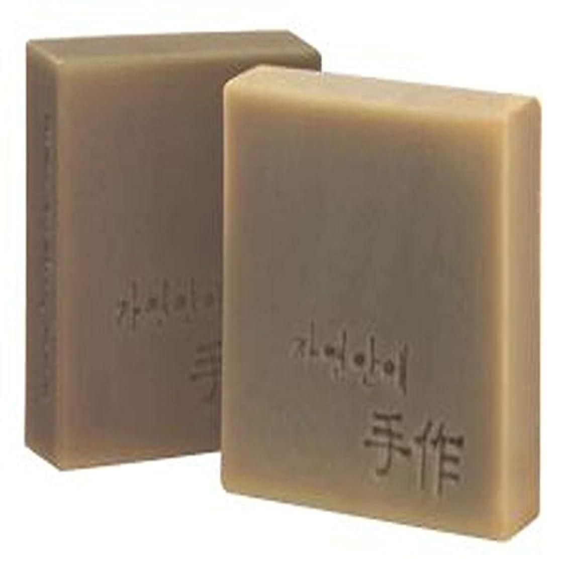 シャークの面では委任するNatural organic 有機天然ソープ 固形 無添加 洗顔せっけんクレンジング [並行輸入品] (SEOSIOKYOUNGSAN)