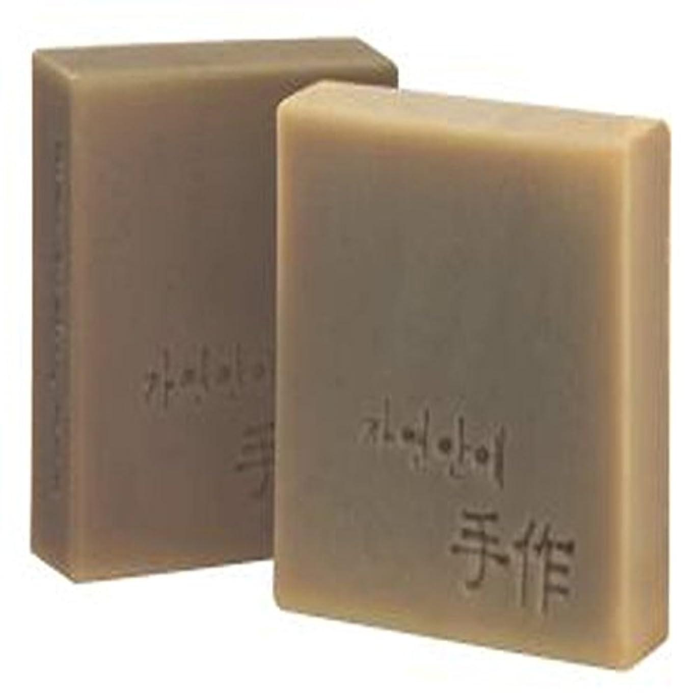 スプリットとんでもないプレフィックスNatural organic 有機天然ソープ 固形 無添加 洗顔せっけんクレンジング [並行輸入品] (SEOSIOKYOUNGSAN)