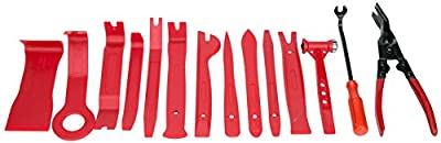 8milelake Auto Upholstery Tools with Bonus Clip Pliers & Fastener Remover