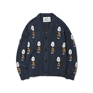 [ジェラート ピケ] 【Gelato Pique Homme】Snoopy JQDカーディガン メンズ PMNT185960 GRN 日本 M (日本サイズM相当)