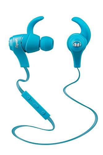 Monster iSport wireless bluetooth対応 カナル型 ワイヤレスイヤホン 防滴/スポーツ向け ブルー MH ISRT WL IE BL BT 【国内正規品】