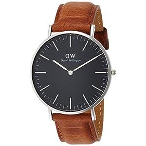 [ダニエル・ウェリントン]DanielWellington 腕時計 Classic Black Durham ブラック文字盤 DW00100132 メンズ 【並行輸入品】