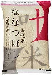 【精米】 [Amazon限定ブランド] 叶米 北海道産 無洗米 ななつぼし(チャック機能付特別パッケージ) 5kg 令和2年産
