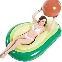 Jasonwell アボカドフロート 浮き輪 フロート インスタ映えの王者ツール 快速エアバルブ 海遊び 水遊び プールパーティー 夏 用品 大人用浮き輪 強い浮力 海水浴 プール 海フロート 飾りおもちゃ