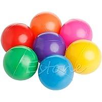 Fangスカイ1 pcカラフル楽しいボールソフトプラスチック海洋ボールKid Toy Swim Pit Toy新しい(直径: 2.8インチ)