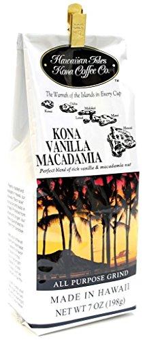 ハワイアンアイルズ レギュラーコーヒー コナ バニラマカダミア 198g×1個