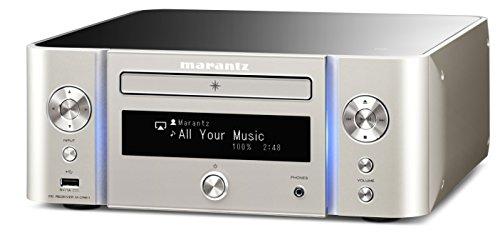 Marantz MCR611FN シルバー ネットワークCDレシーバー ハイレゾ音源・Bluetooth・ワイドFM対応 コンポ