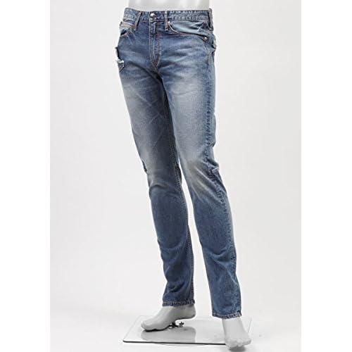(ジミー タヴァニティ) JIMMY TAVERNITI ストレッチジーンズ 30サイズ BLACKIE TIGHT FIT/REGULAR RISE/NARROW LEG インディゴブルー [並行輸入品]