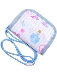 コインケース (ひも付き) 子供用 プリンセスドレスで彩るパウダールーム(ストライプ) N5612100