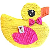 APINATA4U It's a Girl Rubber Duck Pinata ベビーシャワー用