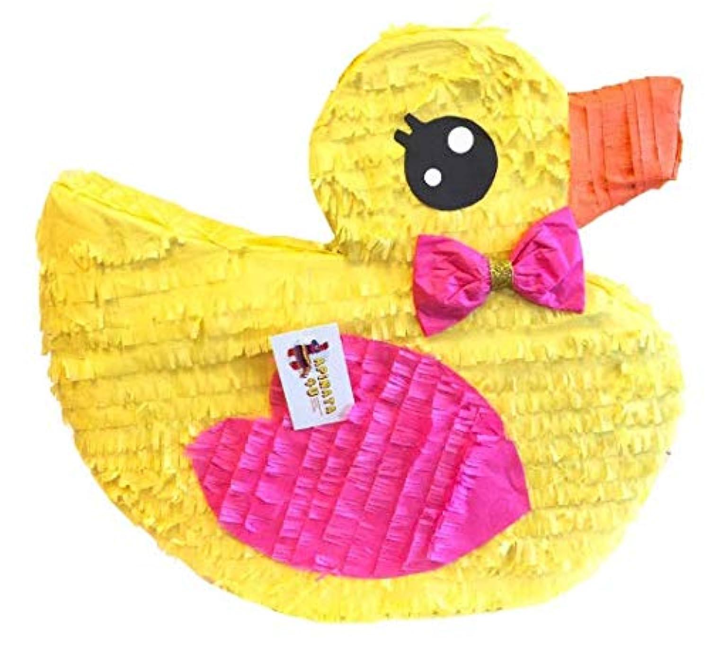 APINATA4U It's a Girl Rubber Duck Pinata ベビーシャワー用
