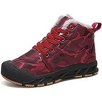 Aiweijia Autumn And Winter boy girl snow boots Non-slip waterproof child Keep warm Flat boots