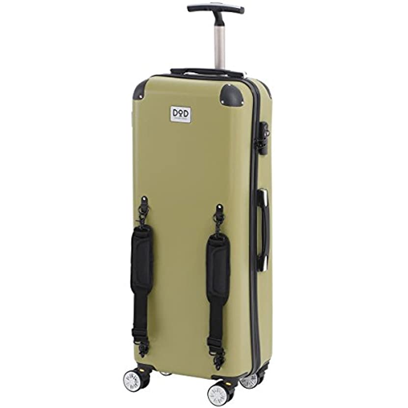 ゲージスワップジャンプDOD(ディーオーディー) キャンパーノ?コロコーロ キャンパーのための防水スーツケース CC1-514