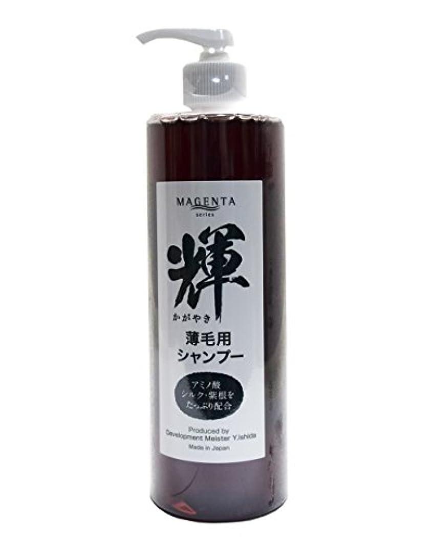 用語集器具排除するY'stone ワイストーン MAGENTA 輝 マジェンタ かがやき 薄毛用 シャンプー 400ml アミノ酸・シルク・紫根をたっぷり配合 日本製