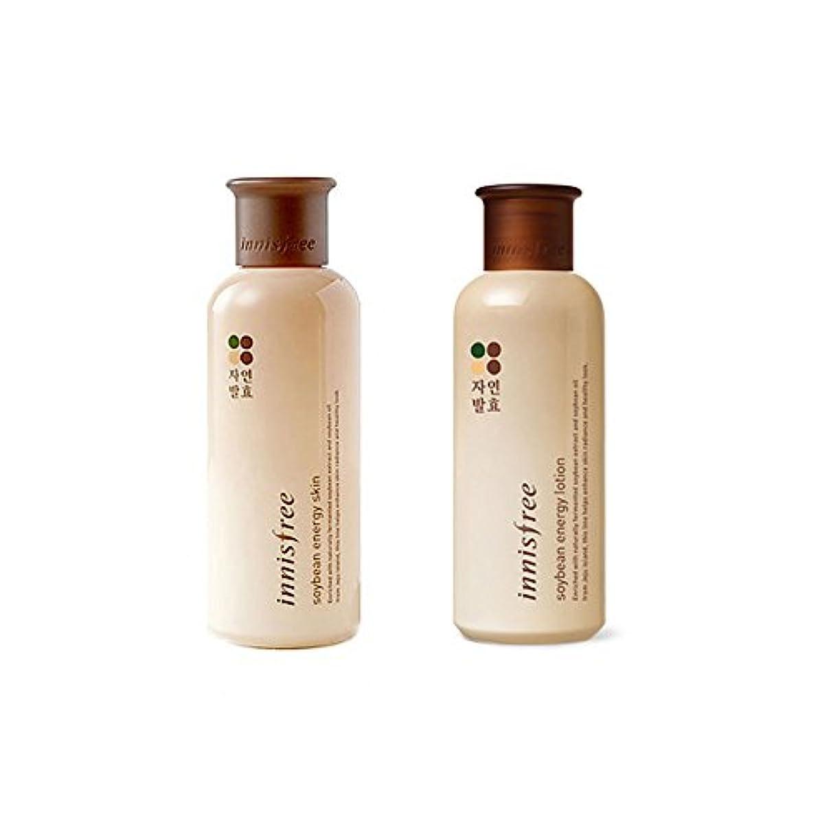 比類なき概して準拠[イニスフリー] Innisfree 発酵大豆エネジスキン (200ml)+ ローション(160ml)セット Innisfree Soy Bean Energy Skin(200ml)+Lotion(160ml)Set...